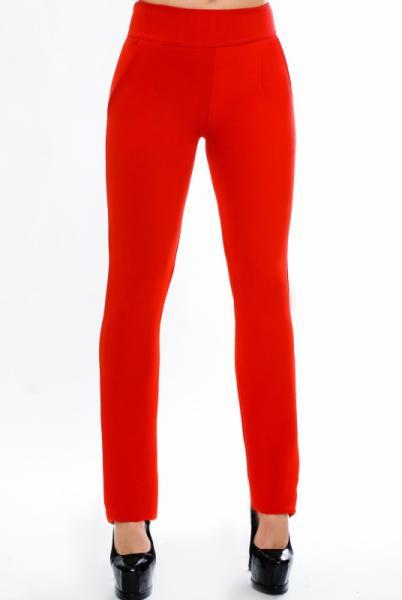 """Красные женские брюки """"Classic"""""""