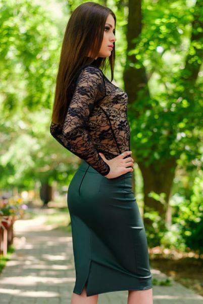 "Купить юбку ""BULGARI"", изумруд"