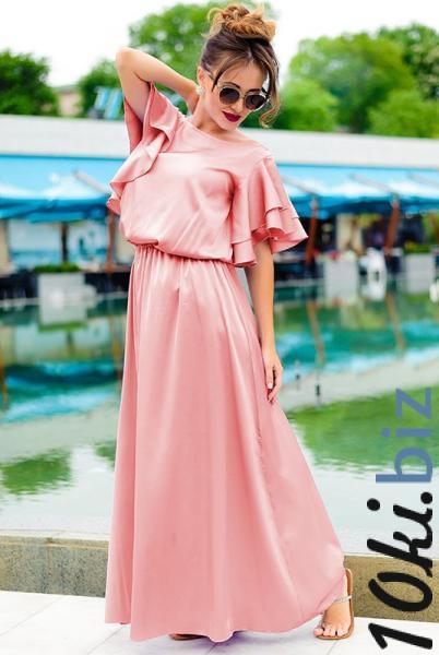 Летнее платье в греческом стиле  Шерлиз пудра - Платья в пол, макси платья в магазине Одессы