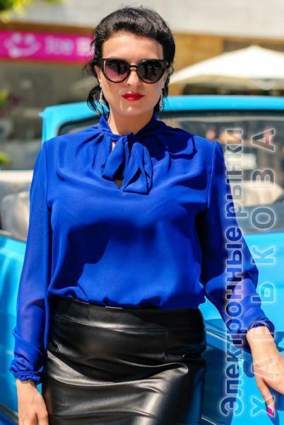 fce6a0f7993 Офисная блузка