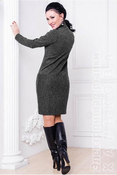 c2366709ba4 Платье гольф Шоппен Ангора - Платья больших размеров на рынке Барабашова ...