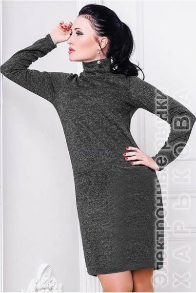 6ef0e5d582a ... Платье гольф Шоппен Ангора - Платья больших размеров на рынке Барабашова  ...