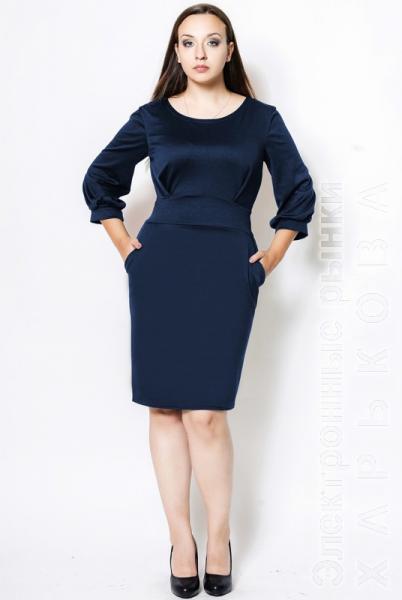 097fb0cbaf9 Платье для офиса батал