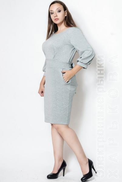 a5dbafcf613 ... Платье для офиса батал
