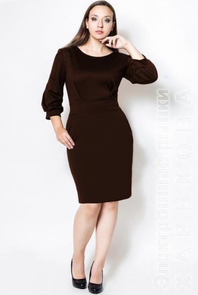 bac528a072a ... Платье для офиса батал