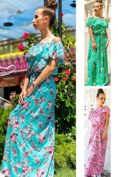 """Платье с цветочным принтом  """"Venera принт"""""""