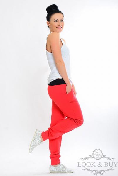 """Спортивные брюки """"Style"""" коралл"""