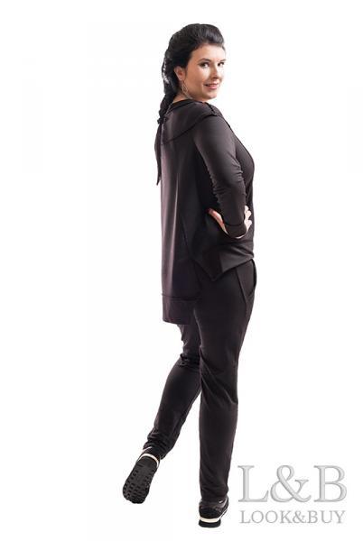 """Спортивный женский костюм """"Токио""""черный"""