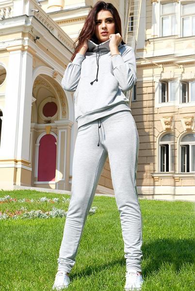 """Спортивный костюм """"МонБлан"""", серый"""