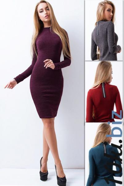 """Теплое платье """"Летуаль"""" - Платья с рукавами, теплые платья в магазине Одессы"""
