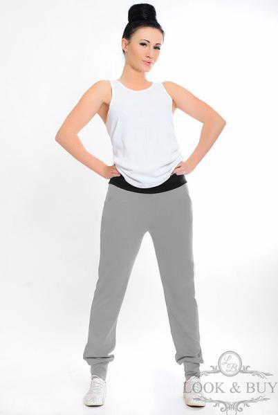 """Трикотажные штаны """"Style"""" серые"""