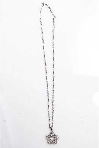 Цепочка с кулоном 4012 серебро