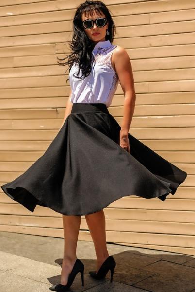 "Черная юбка ""Malaga"""