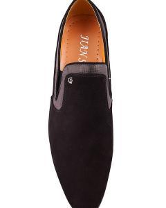 Фото  Классические туфли черного цвета