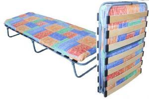 Кровать раскладная на ламелях с матрасом БК-2Л