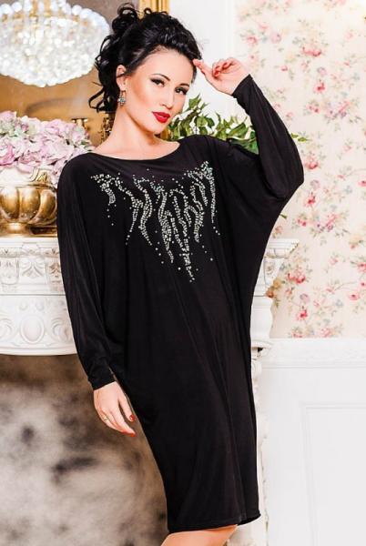 Черное платье Эмануэль