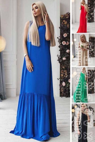 83f193f41d1 Шикарное длинное платье Скарлетт - Платья в пол