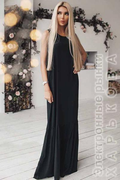 9d38d597cbb ... Шикарное длинное платье Скарлетт - Платья в пол