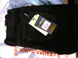 Фото мужская одежда, брюки брюки RICH&COM Jeans черные 48 размер