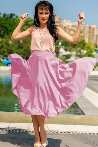 Фото Одежда больших размеров, Женские юбки батал Юбка  миди