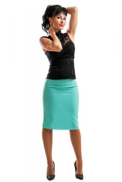 Фото Одежда больших размеров, Женские юбки батал Юбка деловая