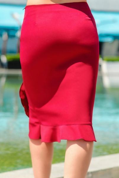 Фото Одежда больших размеров, Женские юбки батал Юбка для офиса