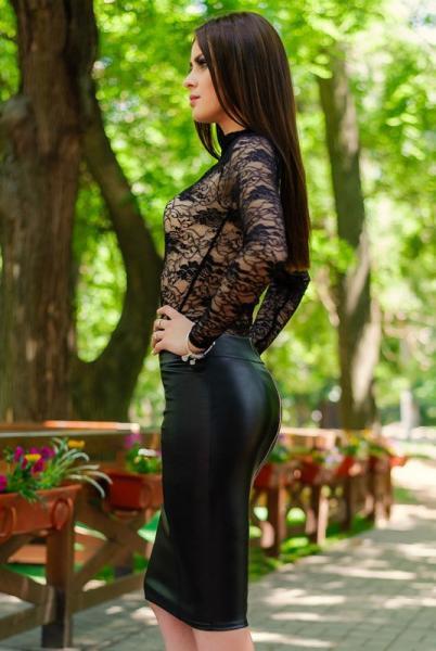 Фото Юбки Юбка экокожа