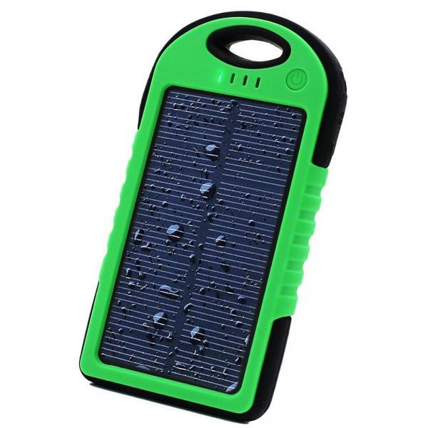 Power Bank с солнечной батареей 5000 мАч