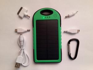 Фото  Power Bank с солнечной батареей 5000 мАч