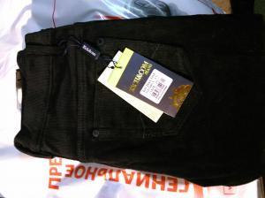 Фото мужская одежда, брюки брюки RICH&COM Jeans черные 54 размер