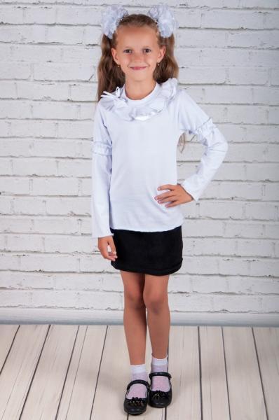 Блуза шкільна з воланом