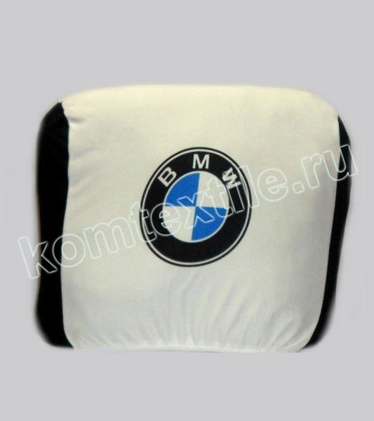 "Чехол для подголовника авто ""BMW"""