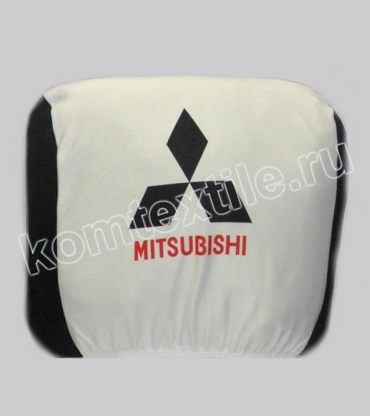 """Чехол для подголовника авто """"Mitsubishi"""""""