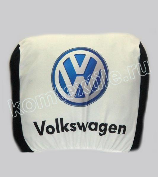 """Чехол для подголовника авто """"Volkswagen"""""""