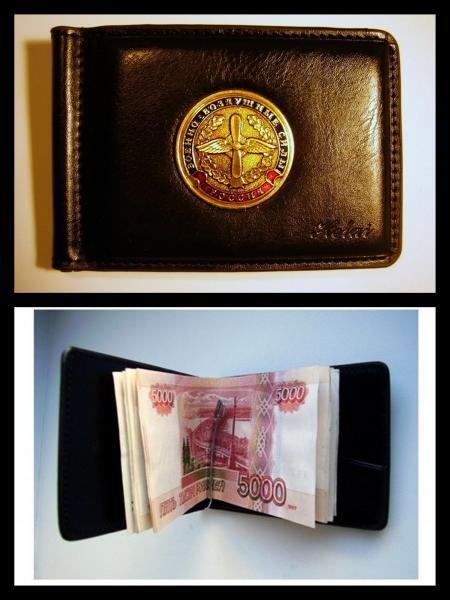 Зажим для денег с жетоном - ВВС СА