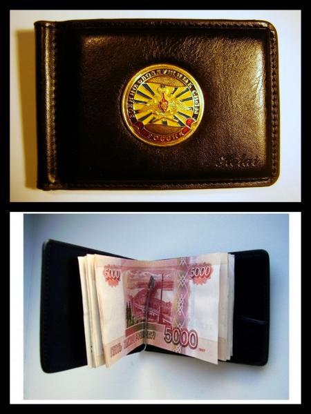 Зажим для денег с жетоном - ВВС флаг