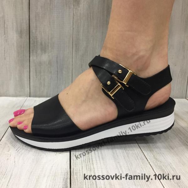 Фото Женская обувь, Босоножки Босоножки женские черные