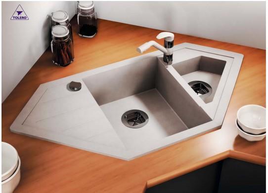 Мойка для кухни кварцевая TOLERO R-114