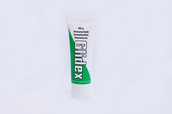 Glidex Armaturfedt - концентрированная защитная силиконовая смазка в 30 g пластиковом тюбике