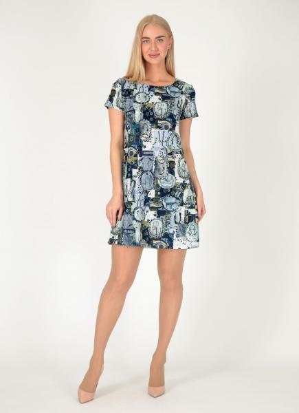 58d95dfabadf Большие размеры Платья - «FILeo» - Женская одежда оптом