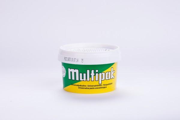 Паста для уплотнения резьбовых соединений Multipak в 300 г пластиковой банке.