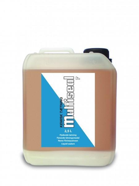 Жидкий герметик MULTISEAL F 2,5 л (для скрытых утечек в системах отопления при потерях до 30 л в день)