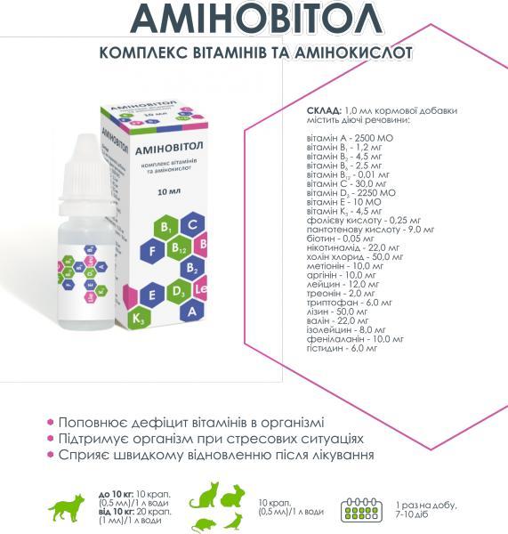 АМИНОВИТОЛ 10л под заказ (витаминный комплекс)