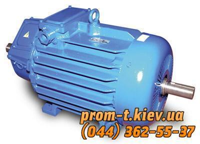 Фото Электродвигатели общепромышленные, взрывозащищенные, крановые, однофазные, постоянного тока, Крановый электродвигатель MTF, MTH, MTKH Электродвигатель MTKH-411-8, MTF-411-8, MTH-411-8