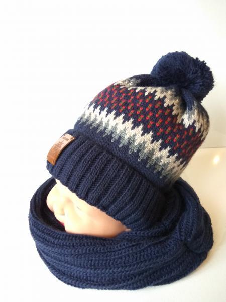 Комплект Ел.хл Топ з шарфом