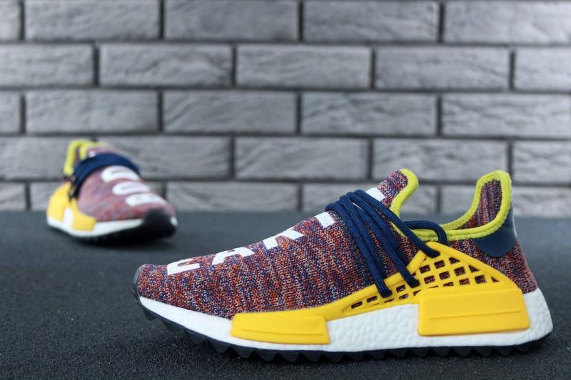 Фото СПОРТИВНАЯ ОБУВЬ, ADIDAS, NMD Adidas x Pharrell Williams Human Race NMD Multicolor (41-45)
