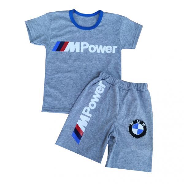 Летний костюм для мальчиков «BMW»