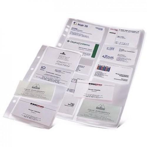 Вкладыши для визитниц на кольцах Durable А5 и А4 (ЦЕНЫ см. подробнее)