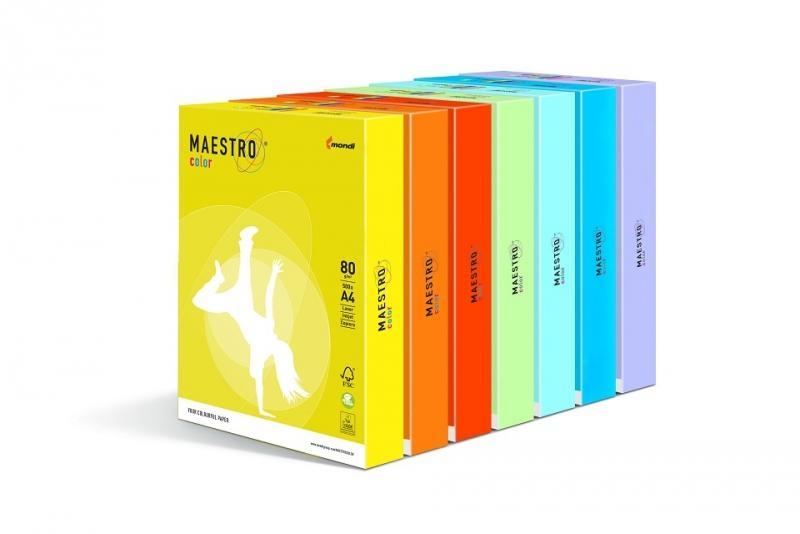 """Бумага цветная """"Maestro Color"""" (разные цвета и ЦЕНЫ, см. подробнее)"""