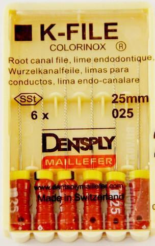 Фото Для стоматологических клиник, Эндоинструменты Dentsply Maillefer K - Files